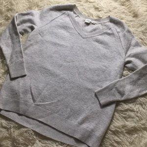 Light Gray Wool Sweater
